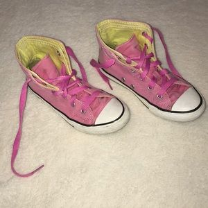 Girls Converse  All Stat high top sneakers